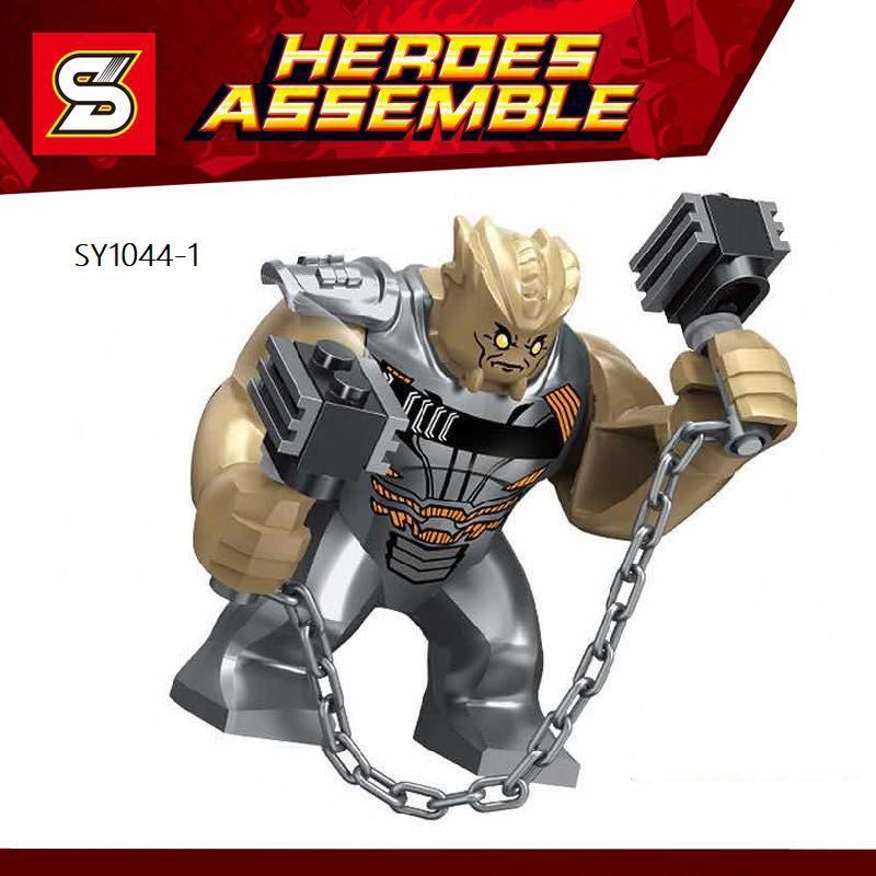 Single Sale Super Heroes Cull Obsidian Figures Avengers 3 Infinity War Bricks Action Building Blocks Children Gift Toys SY1044-1 building blocks single sale stephen curry american professional basketball player labron james bricks children gift toys kf406