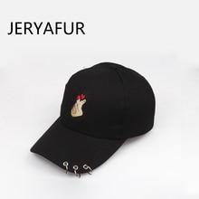 JERYAFUR 2018 Korean Finger Hoop Baseball Cap for Men Women Ladies Sun Visor  Men s Outdoor Sports Cap Snapback Hats Dad Hat 39a36bd37567