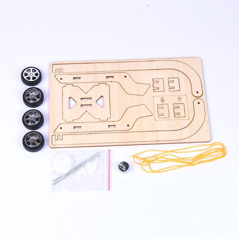 Gravità Trolley Car Kit Di Montaggio Fai Da Te Giocattoli Scienza Tecnologia Fisica Esperimento Di Apprendimento Progetti Di Costruzione Per I Bambini Long Performance Life