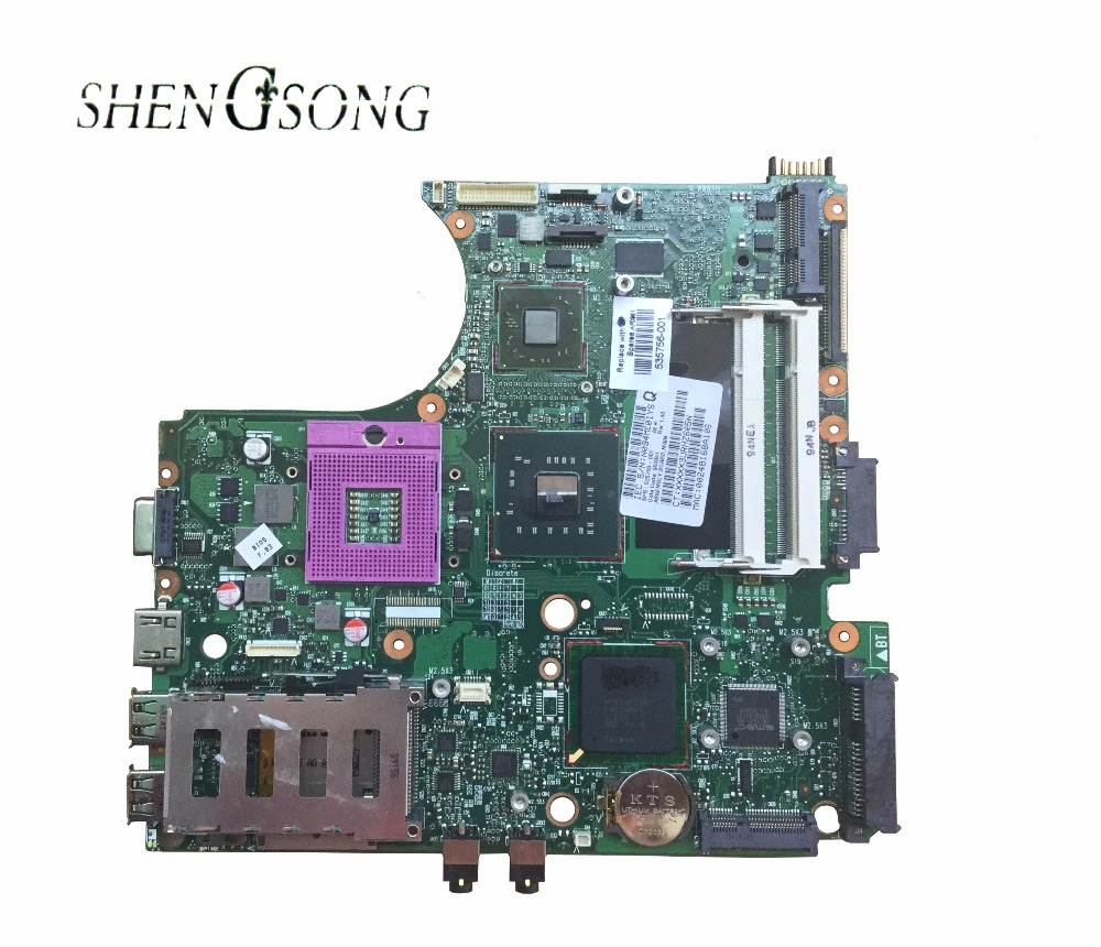 free shipping for HP ProBook 4411S 4510S 4710S motherboard 535756-001 laptop motherboard PM45 chipset 100% test good free shipping original laptop motherboard for hp probook 4510s 4410s 4710s 535857 001 pga478 gm45 ddr2 fully tested