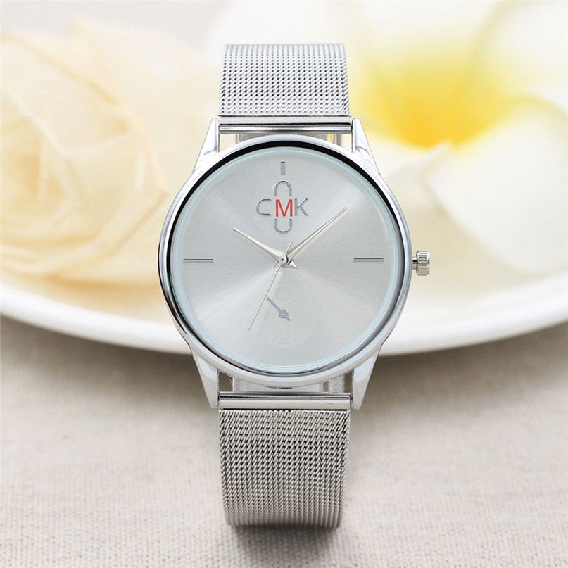Gold Black Mesh Stainless Steel Watches Women Top Brand Luxury Casual Clock Ladies Wrist Watch Relogio Feminino #4M10