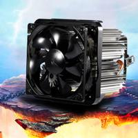 LESHP CPU Cooler Ultra Quiet 20dB(A) with 90mm Fan Four wire for PC Computer 35.5CFM 30,000Hours Long Life Compact Size