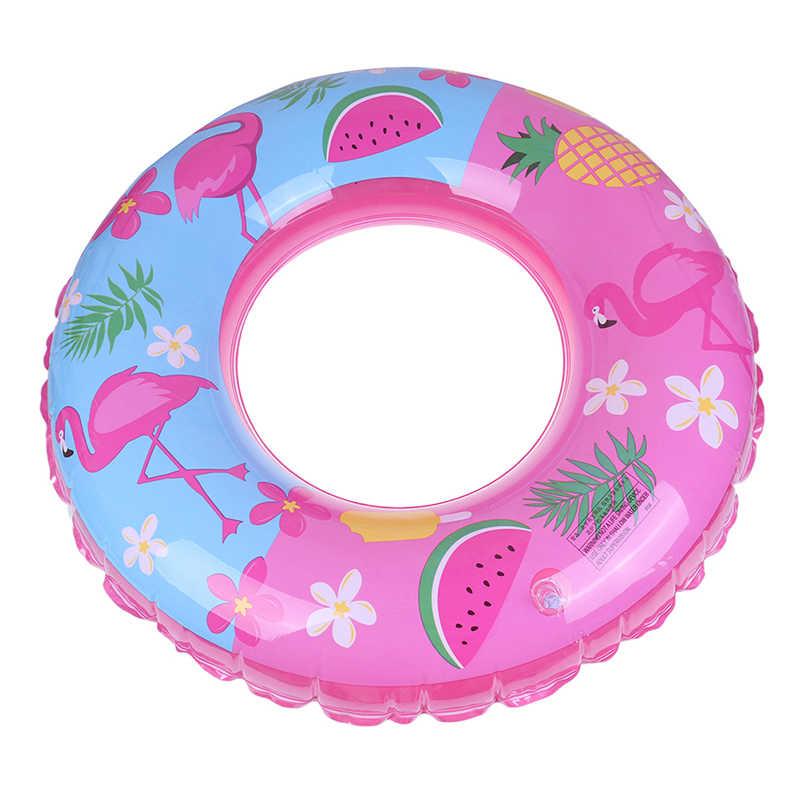 Nadmuchiwane dla dzieci dla dzieci/dorosłych koło pływanie basen dziecko nadmuchiwane koło arbuz basen Float dla dzieci pierścień Flamingo
