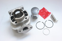 Motorcycle Cylinder kit with Piston KIT 10MM PIN 40mm cylinder block for Booster Road 50cc MBK