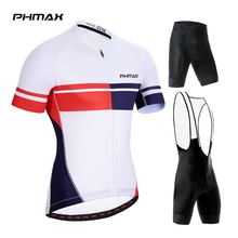 Cycling-Jersey-Set Sportswear Short-Sleeve Mtb Bike Mountain-Bicycle Summer Anti-Uv PHMAX