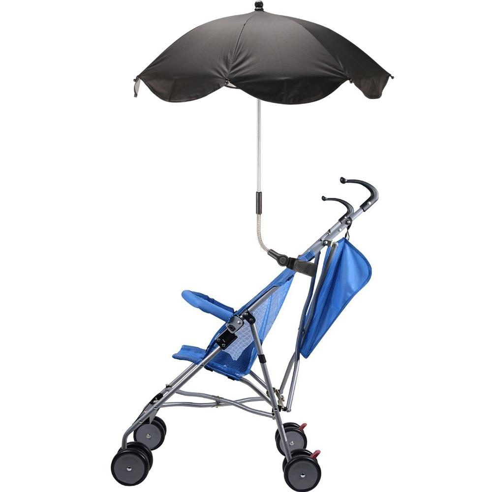1pc Universal Pram Buggy Baby Carrier Parasol Sun Shade Sun Protection Umbrella in Umbrellas from Home Garden