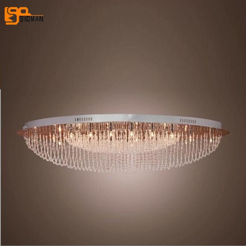 Special price modern crystal ceiling lamp lustre LED ceiling lights for home lighting