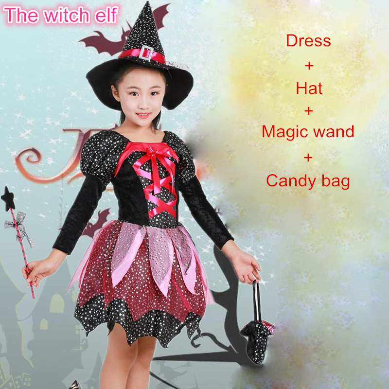 Halloween 2019 Costumes Girls.Us 5 99 40 Off New 2019 Christmas Girls Party Dress Carnival Princess Dress Kids Halloween Clothes Set Show Dress Children Cosplay Costume Set In