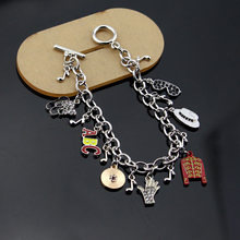New Arrival Infinity Bracelet Love Michael Jackson Music Charm Bracelet Trendy Singer Bracelet The Artist Bracelet Dropshipping(China)