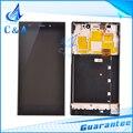 Для Xiaomi 3 жк mi3 м3 экран с сенсорным дигитайзер с заменой сборки рамок частей черный 1 шт. бесплатная доставка