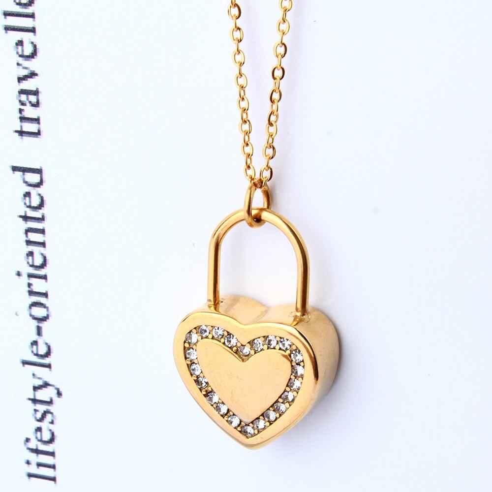 XUANHUA Día de San Valentín Regalo Corazón Collares y Colgantes - Bisutería - foto 2