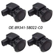 4PCS 89341-58022-C0 For Toyota ALPHARD Parking Sensor Ultrasonic Sensor For GRS190,UZS190,MNH10 CLEARANCE & BACK SONAR