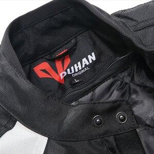 Image 4 - Duhan Мужская куртка с 5 защитными шестернями для мотокросса, полная защита корпуса, водонепроницаемые куртки D089