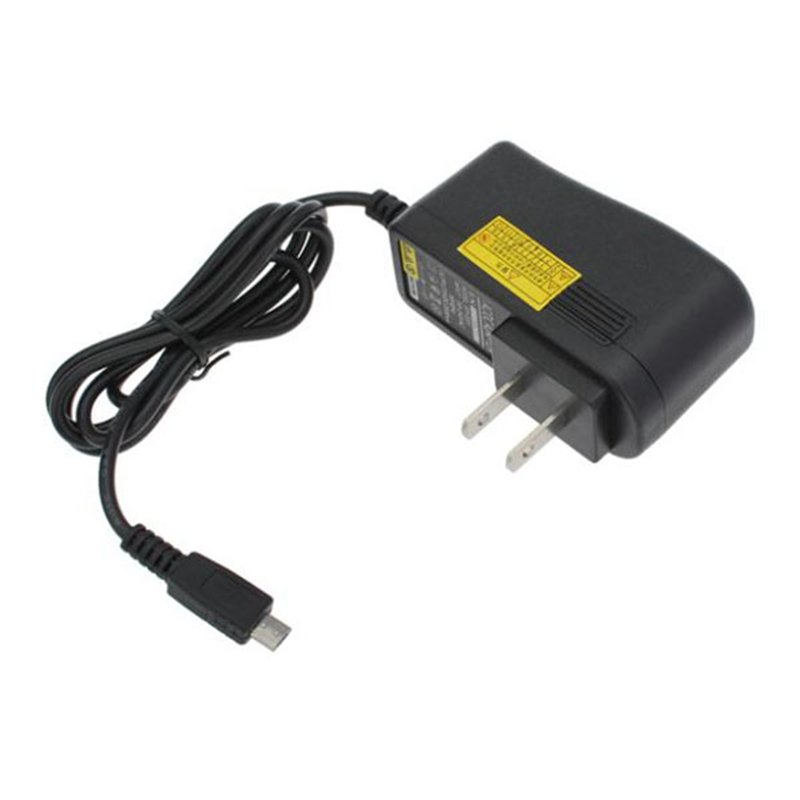 Universal US 5V 2A Micro USB Cable Charger AC DC Power Adapter Charging For Samsung Android Tablets Black Chargers