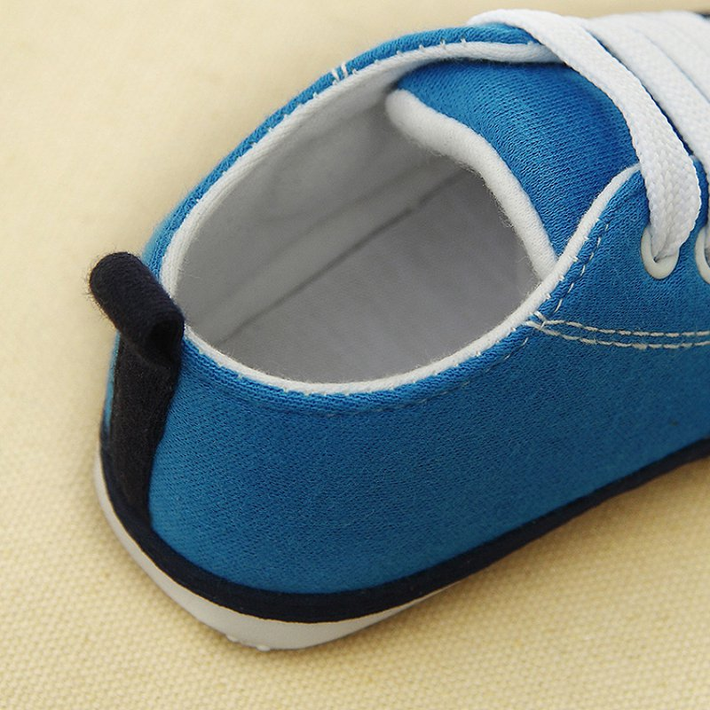 c-Soft-Bottom-Crib-Shoes-Laces-Canvas-Sneakers-Casual-Walkers-0-18M-LH6s-5