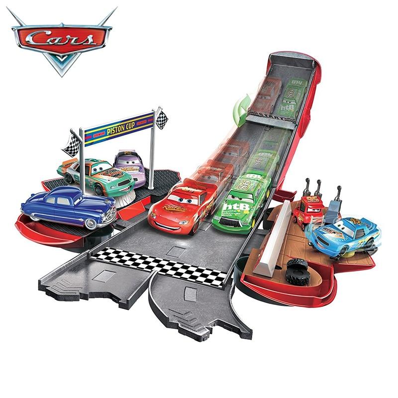 Voitures 3 McQueen piste moulé sous pression voiture jouet modèle moulé sous pression en alliage de métal modèle jouet voiture 2 jouets pour enfants anniversaire cadeau de noël