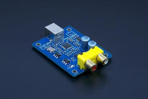 SA9027+ES9023 24BIT / 96KHZ asynchronous USB DAC / HIFI Sound Card Decoder board