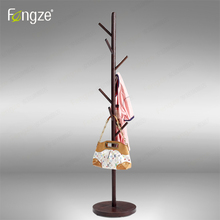 Furniture - Home Furniture - FengZe Home Furnishing Modern Cloth Hanger Hat Rack Solid Wood In Birch And Oak Living Standing Hanger 1800mm Holder Trees