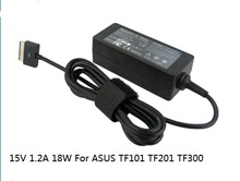 15V 1.2A 18W Laptop computer AC POWER ADAPTER Charger for ASUS EEE pad TF101 TF201 TF300 TF700 TF700T SL101