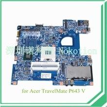 laptop motherboard for Acer TravelMate P643 V NB.V7K11.001 QM77 GMA HD4000 DDR3