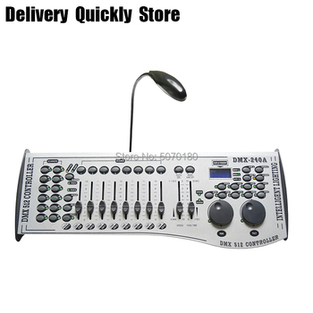 цена на Fast delivery 240A dmx stage light controller powerful dmx 512 console good equipment use for DJ disco party led par moving head