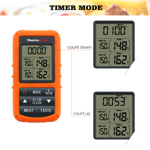 Image 5 - Original ThermoPro TP 20S Remote Wireless Digital BBQ, Oven Thermometer Home Use Stainless Steel Probe Large Screen with Timer