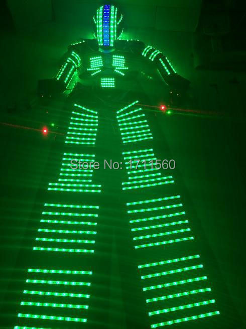 d2626964de LED Kostium LED Odzież garnitury Światła LED Robot garnitury robot led  lights kostiumy