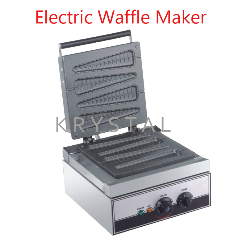 Ijverig Elektrische Lolly Wafelijzer Machine Wafelijzer 220/110 V Commerciële Wafel/muffin Making Machine Eb-q9 Pure Witheid
