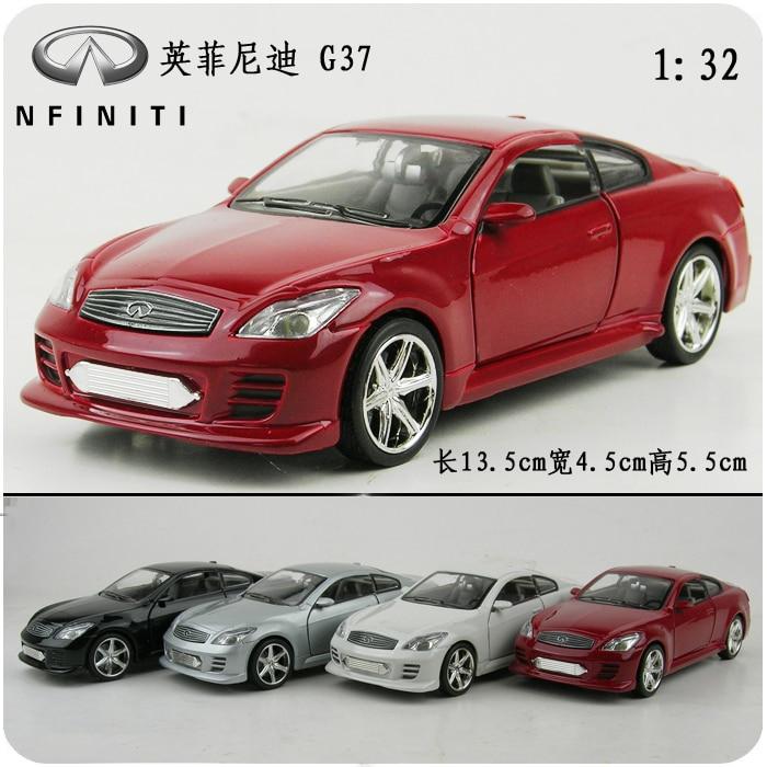 Toy Car Infiniti G37 Alloy Models Acoustooptical Warrior Model