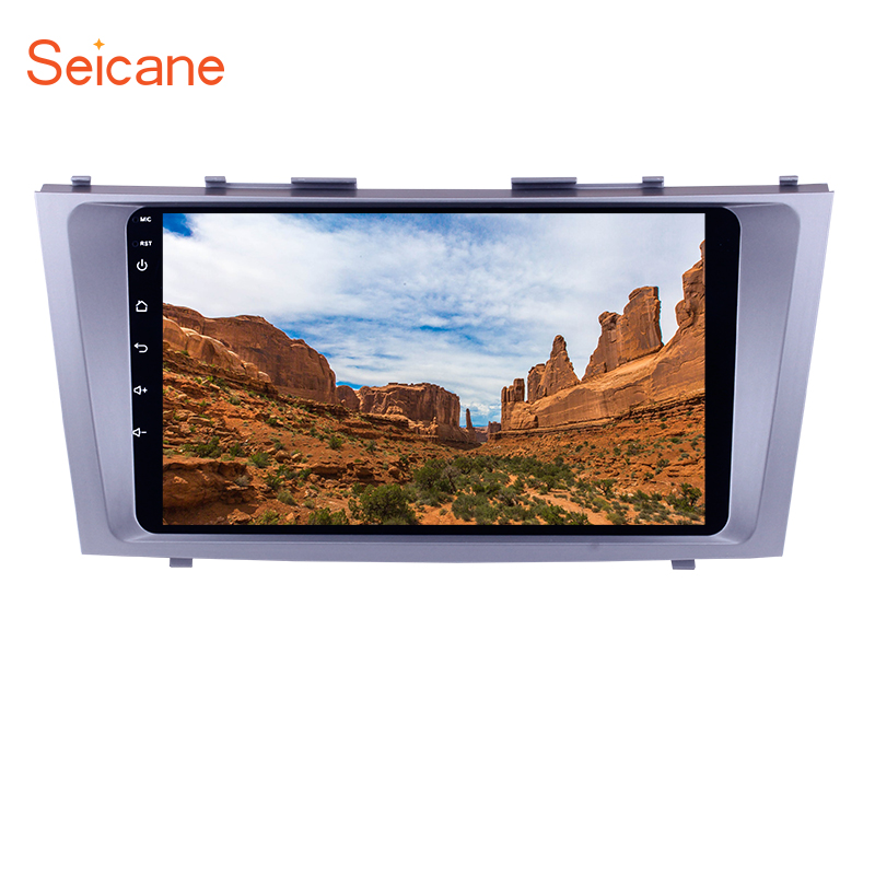 Seicane Android 6.0/7.1 9 inch Car Radio For TOYOTA CAMRY 2007 2008 2009 2010 2011 GPS Multimedia Player Stereo Head Unit цены онлайн
