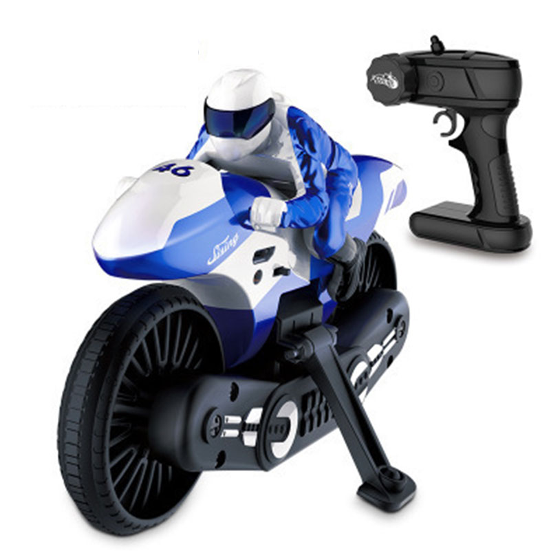 2.4GHz RC Motorcycle Cool Fashion High Speed Drift RC Motorbike Model Remote Control Motor Toys for Children Game Gifts