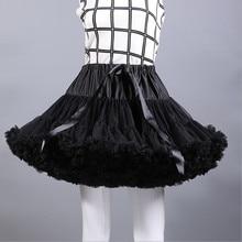 2018 Woman Mini Underskirt Short Dress Petticoat Lolita Ballet Tutu Skirt Rockabilly Crinoline