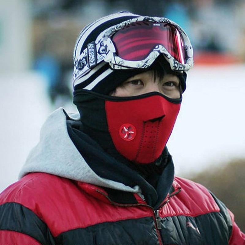2017 winter women men beanies hat balaclava mask windproof dustproof warm face mask neck warmer motorcycle bonnet Skullies