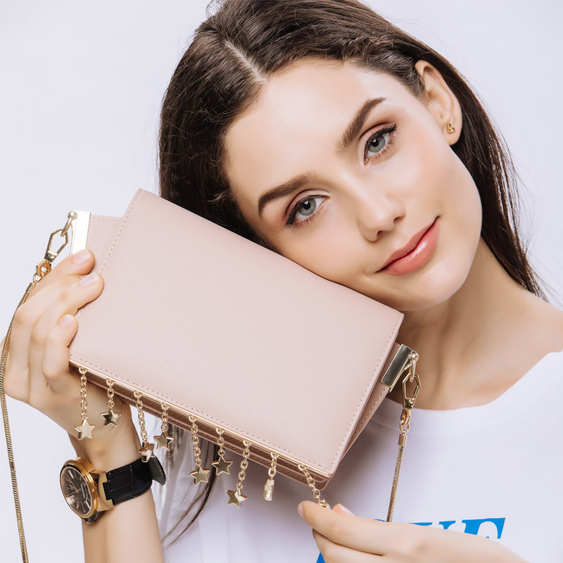 KZNI High Quality Leather Small Women Bags for Girl Small Crossbody Bags for Women Handbag Leather Sac a Main Femme 9101 kzni ladies purse small crossbody bags for women flower handbag purses and handbags party bags for girl sac femme pochette 18002