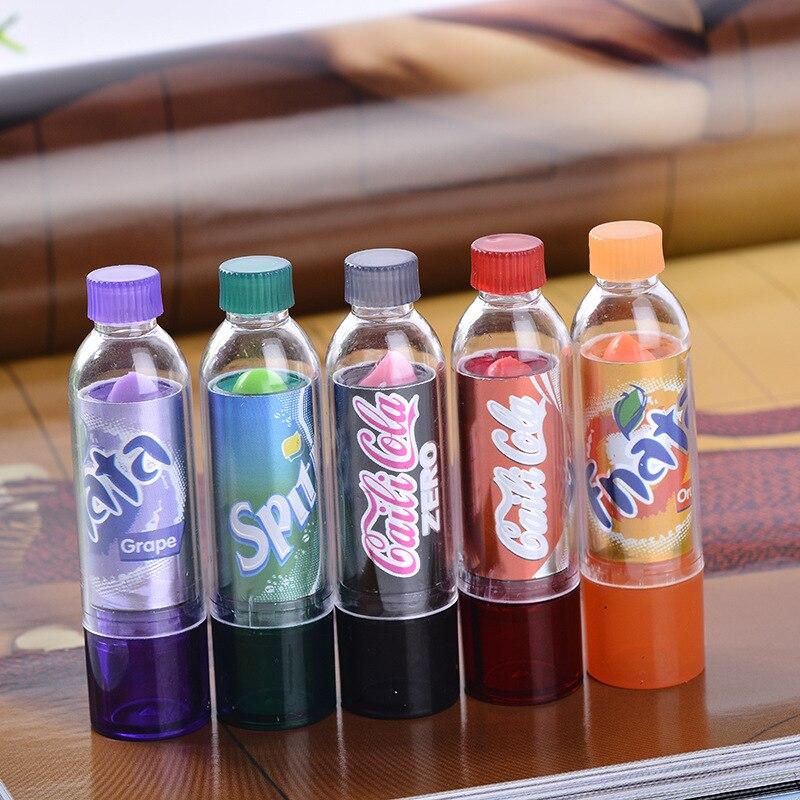 1 Uds nuevo maquillaje cambia Color Cola bonita hidratante suave aroma labial marca maquillaje bálsamo labial