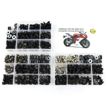 For Yamaha YZF R6 YZF-R6 2008-2016 Motorcycle Screws OEM Style Complete Full Fairing Bolts Kit Washer Fastener Clips Steel Nuts