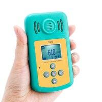 Углекислого газа тестер Высокая точность анализатор качества воздуха Портативный CO2 детектор Температура метр