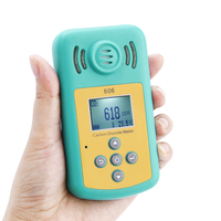 Carbon Dioxide Tester High Precision Air Quality Analyzer Portable CO2 Detector Temperature Meter