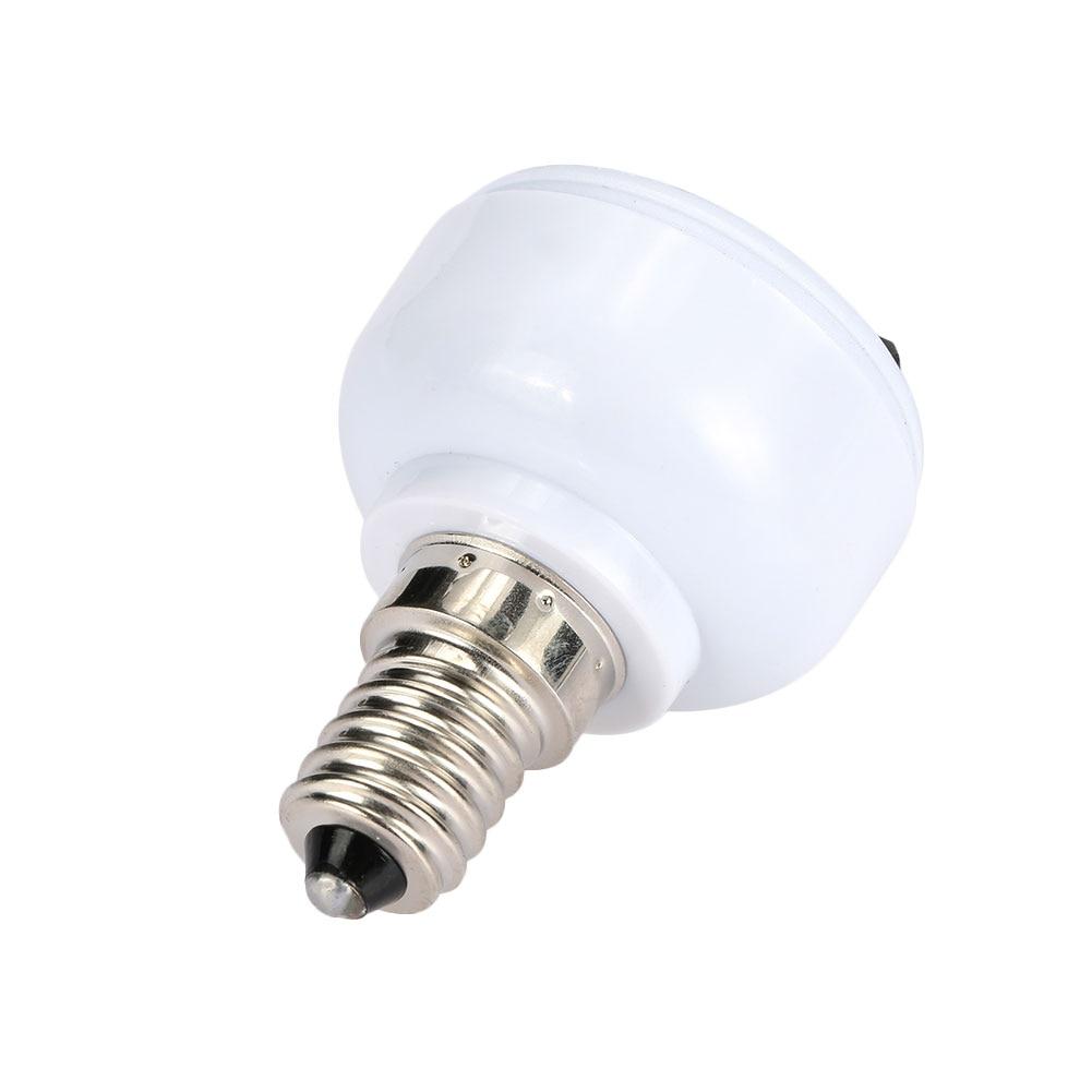 E14  Lamp Socket Light Holder US/EU Plug White Converter Screw Bulb Lamp Base Connector Lighting Fixture Accessories
