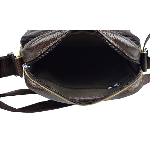 Angel Voices! Hot sale New fashion genuine leather men bags small shoulder bag men messenger bag crossbody leisure bag XP491
