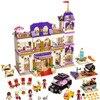 10547 1676Pcs Girls Series The Heartlake Grand Hotel Model Building Blocks Bricks Lepin 01045 Toys For