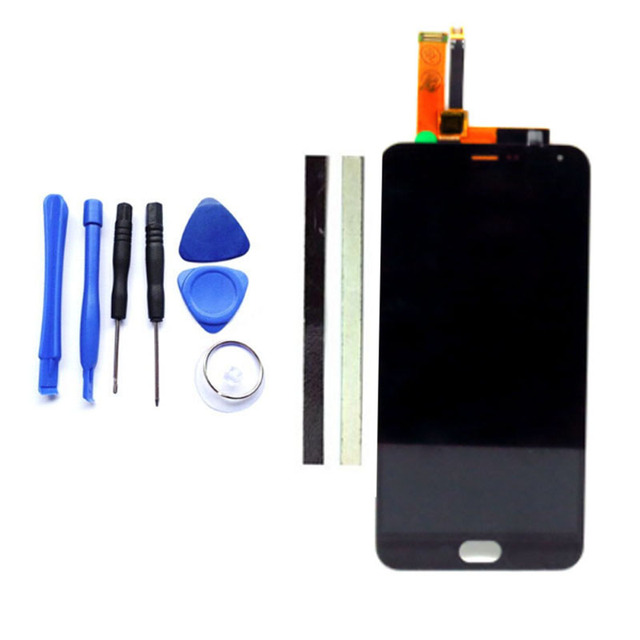 1PCS Black 5.5Inch M2 Note LCD Display + Digitizer Touch Screen Replacement For Meizu M2 Note Cell Phone Parts + Tools