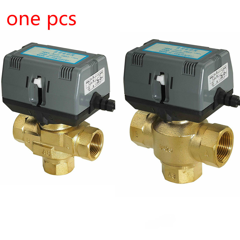 Two Way Three Way Motorized Actuator Electric Valve Fan