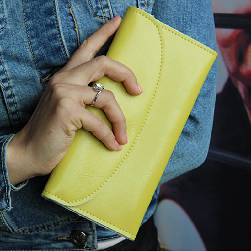 8 Colors Long Design Women Wallets High Quality Genuine Leather Fashion Style Female Wallet Card Holders Purse Carteira Feminina цены онлайн