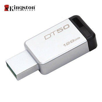 Kingston DT50 USB 3.0 USB Flash Drive 16GB 32GB Pendrive 64GB 128GB Metal Pen Drives Flash Memory Stick Storage Device U Disk USB-флеш-накопитель