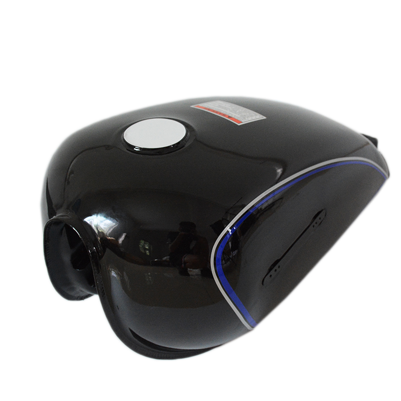 купить Cafe Racer Tank 6L Motorcycle Fuel Gas Can Tanks & Cove For Suzuki GN125 GN250 по цене 6000.1 рублей