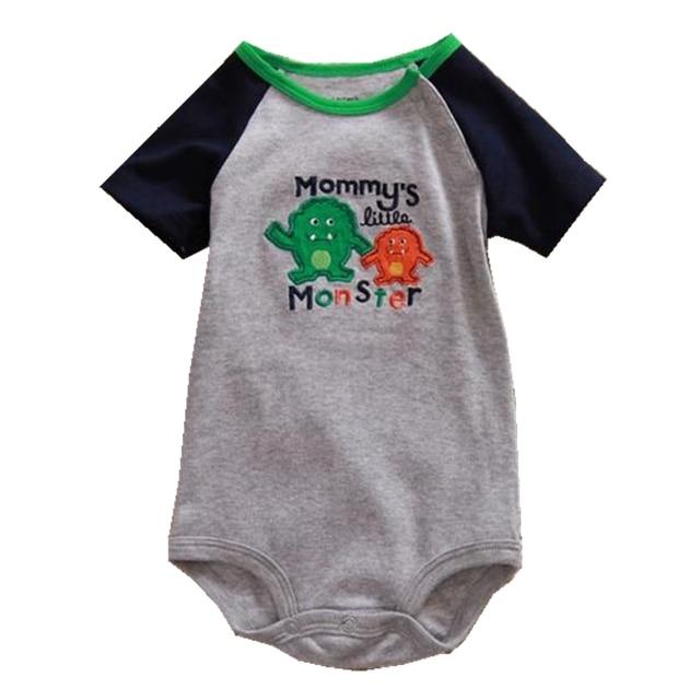 7022c72e28ba Mommy s Little Monster Body Baby Rompers for Boys Jumpsuit Kids ...