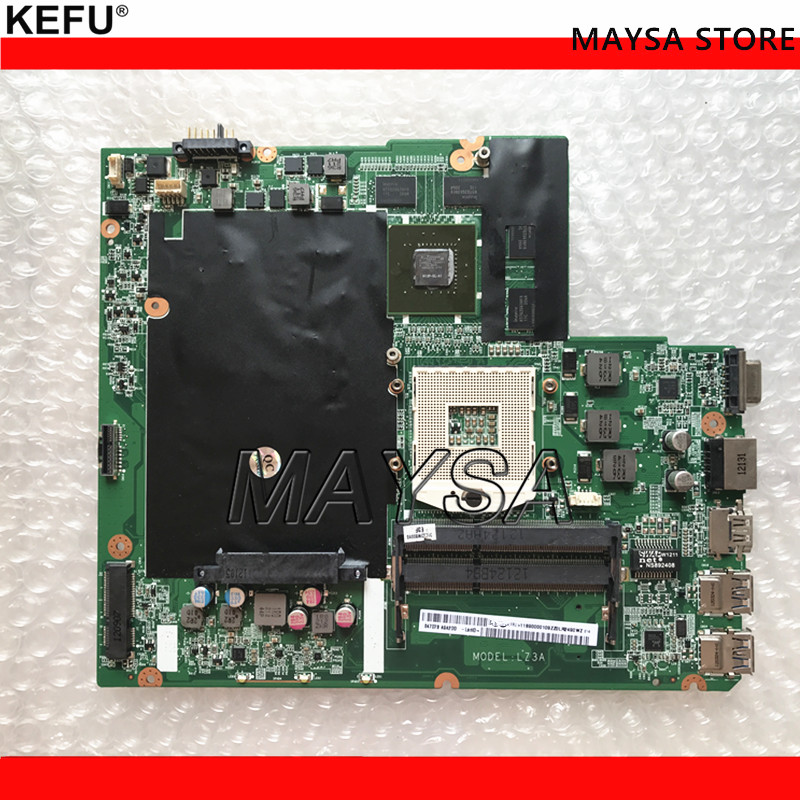 System Board Fit For LENOVO Z580 Laptop Motherboard DALZ3AMB8E0 HM76 chipset Motherboard 100% Tested suitable for lenovo z580 motherboard da0lz3mb6g0 gt630m hm76 system mainboard original new