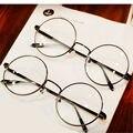 Rodada óculos óculos armações de óculos com vidro transparente das mulheres os homens Frame ótico vidros transparentes para Harry Potter