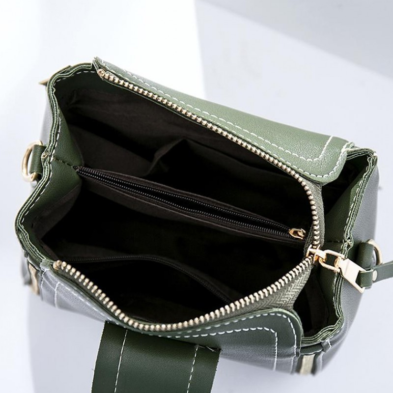 simple fashion women bucket bag High quality leather shoulder bag luxury handbags summer style female crossbody messenger bags in Shoulder Bags from Luggage Bags